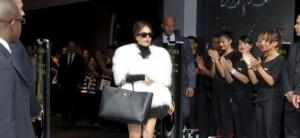 Fame Lady Gaga champs élysées