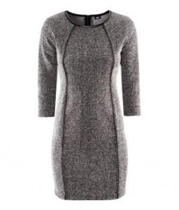 Robe grise Lana Del Rey H&M