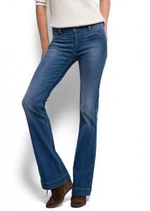jean pattes d'éléphant mango - Kate Moss