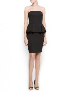 robe noire suzie mango - Kate Moss