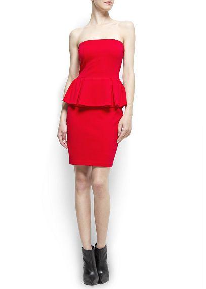 robe rouge mango. Black Bedroom Furniture Sets. Home Design Ideas