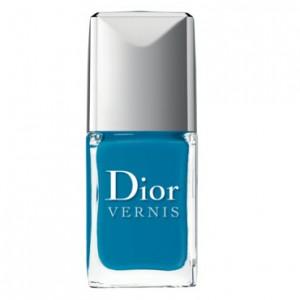 vernis bleu lagoon dior