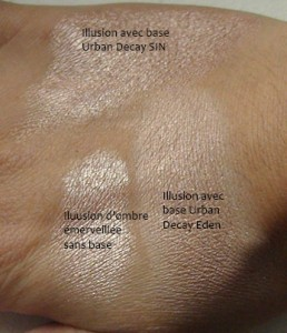 Swatch base à paupières Urban Decay