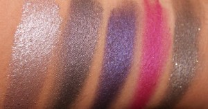 Swatch Vice palette Urban Decay