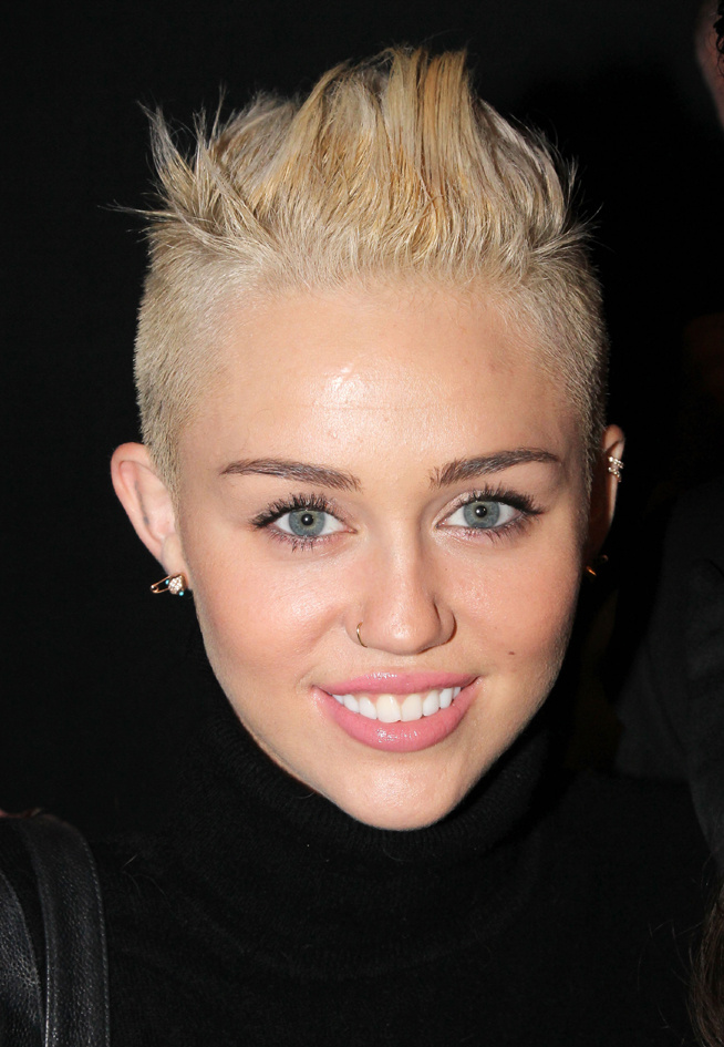 Miley Cyrus nouvelle coupe