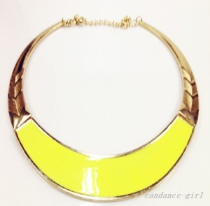 collier doré jaune ebay