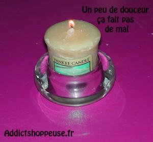 Yankee candle bougies parfumées réduction