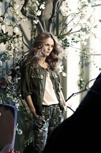 Vanessa Paradis égérie H&M collection Conscious