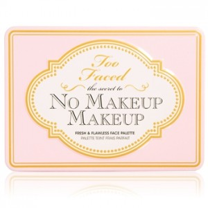 Too faced Boudoir Beauty collection printemps 2013 Palette The Secret To No Makeup Makeup