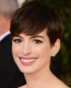 Anne Hathaway golden globes Awards 2013 best of beauty