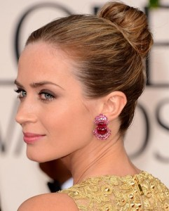 Emily Blunt golden globes Awards 2013 best of beauty