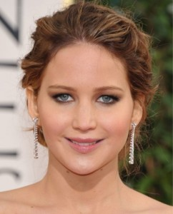 Jennifer Lawrence golden globes Awards 2013 best of beauty