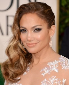 Jennifer Lopez golden globes Awards 2013 best of beauty
