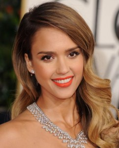 Jessica Alba golden globes Awards 2013 best of beauty