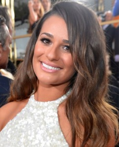 Lea Michele golden globes Awards 2013 best of beauty