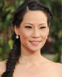 Lucy Liu golden globes Awards 2013 Best of beauty