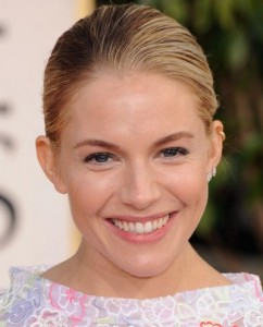 Sienna Miller golden globes Awards 2013 best of beauty