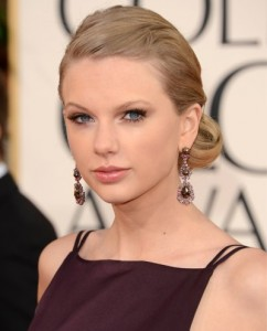 Taylor Swift golden globes Awards 2013 Best of beauty