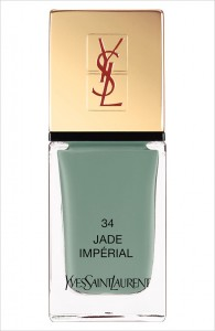 Vernis Jade impérial YSL Arty Stone collection printemps 2013