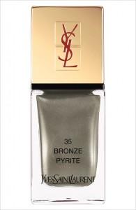 Vernis Bronze pyrite YSL Arty Stone collection printemps 2013