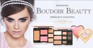 Too faced Boudoir Beauty collection printemps 2013