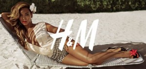 Beyonce H&M collection printemps été 2013