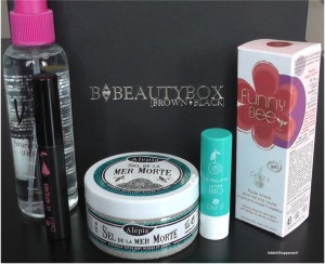 BBeautybox Mars 2013 box beauté orientale métisse noire