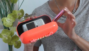 DIY clutch sac rapide et rose easy and pink