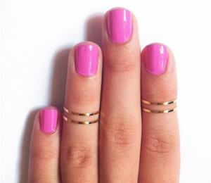 bague knuckle ring