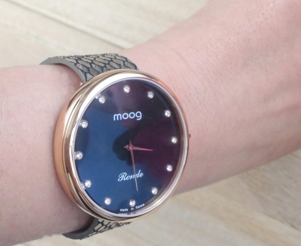 MOOG PARIS montre
