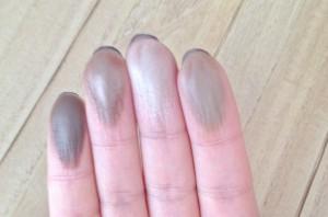 swatchs palette fards 03 brown clarins