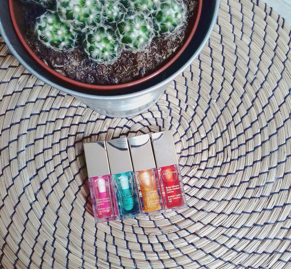 huiles lèvres clarins collection printemps été 2017