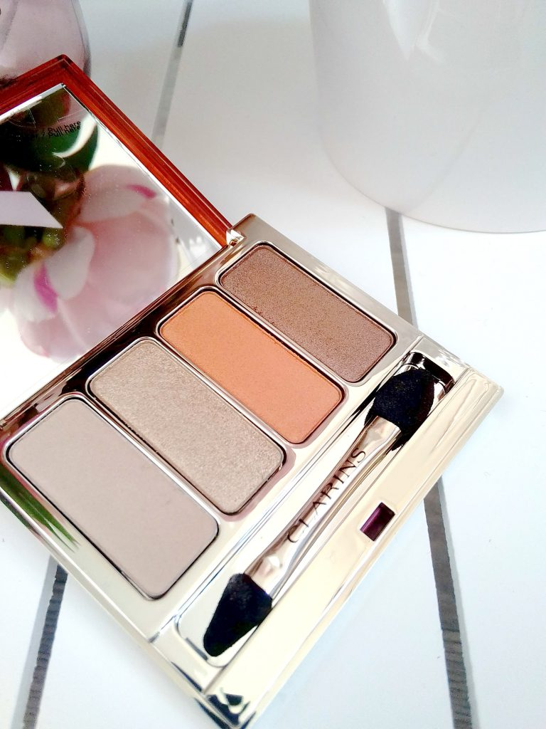palette fards à paupières clarins collection printemps été 2017