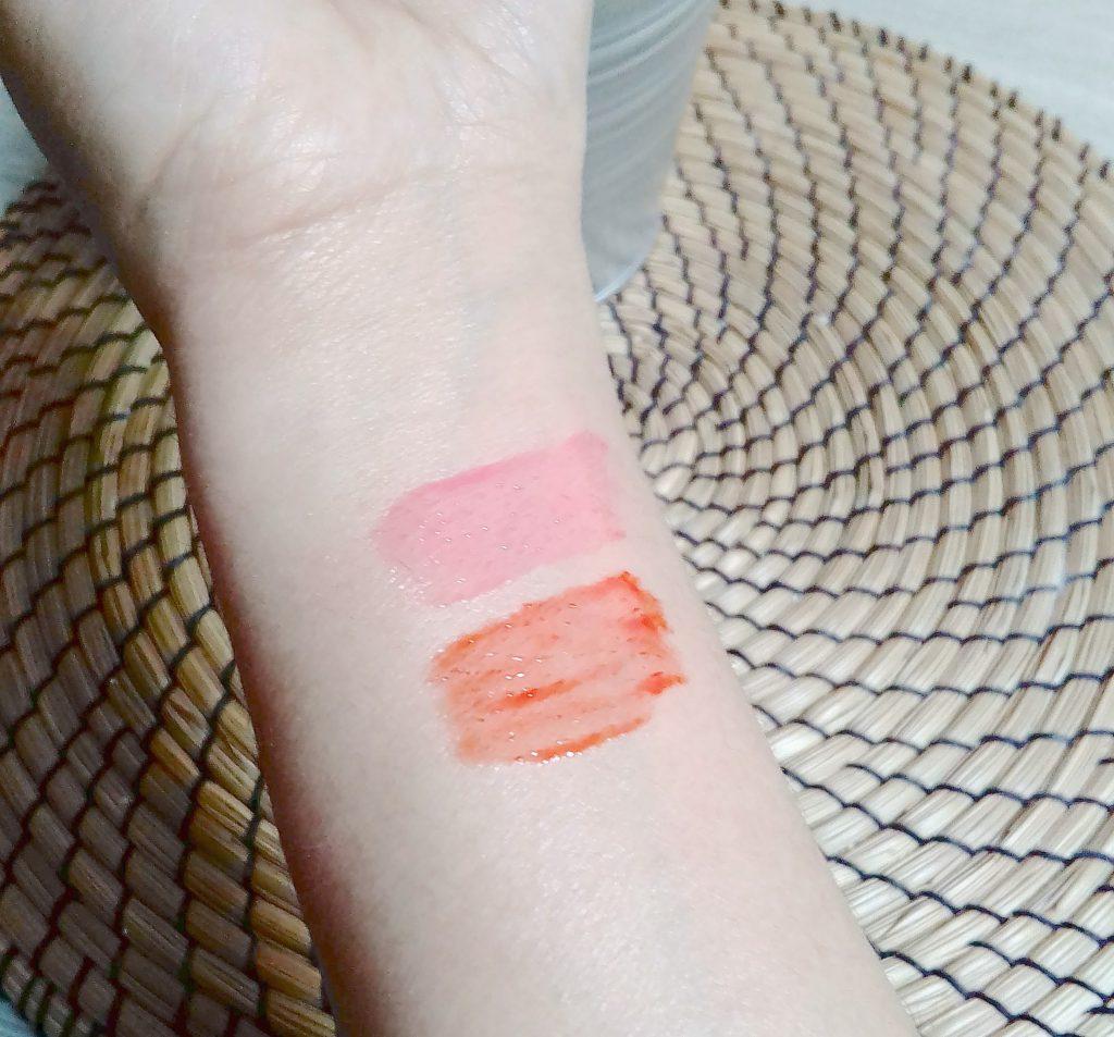 swatchs embellisseurs lèvres clarins