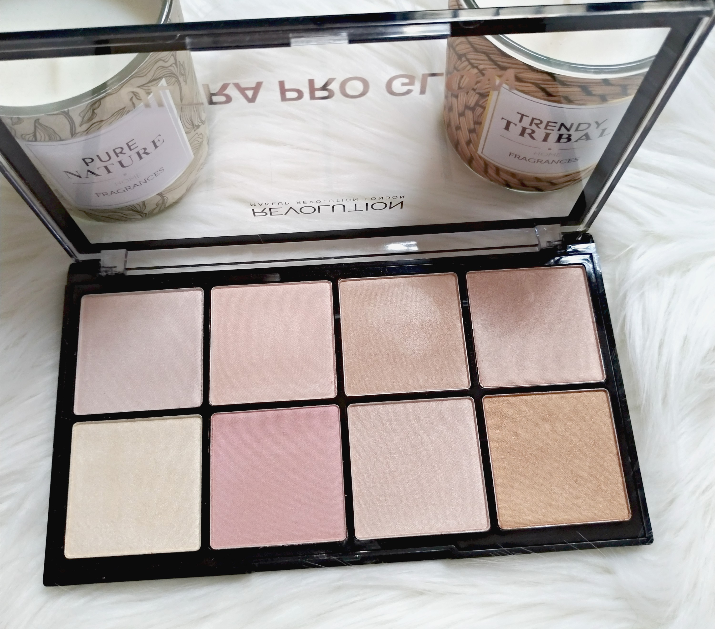 palette highlighter makeup revolution
