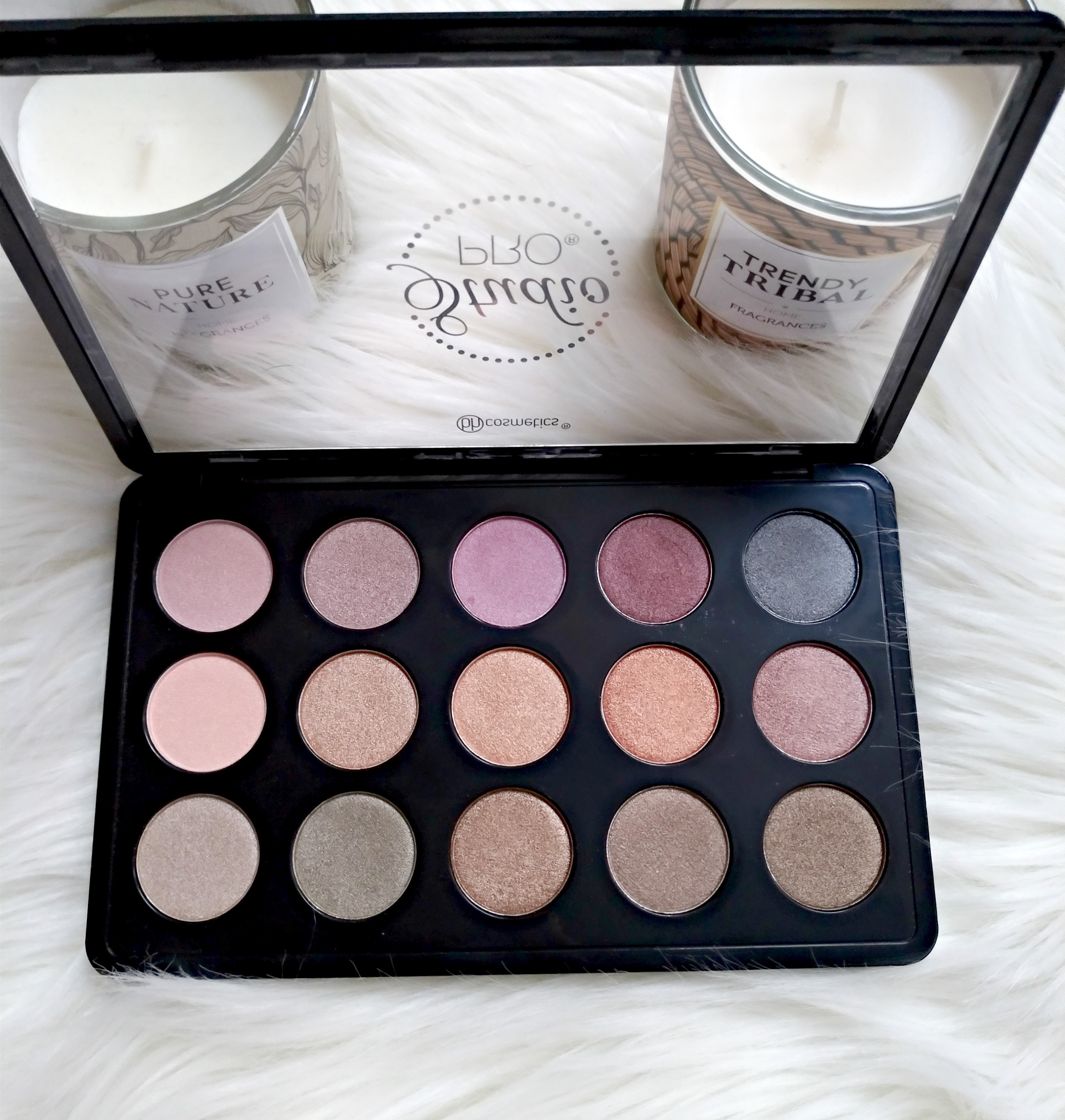bh cosmetics pro palette