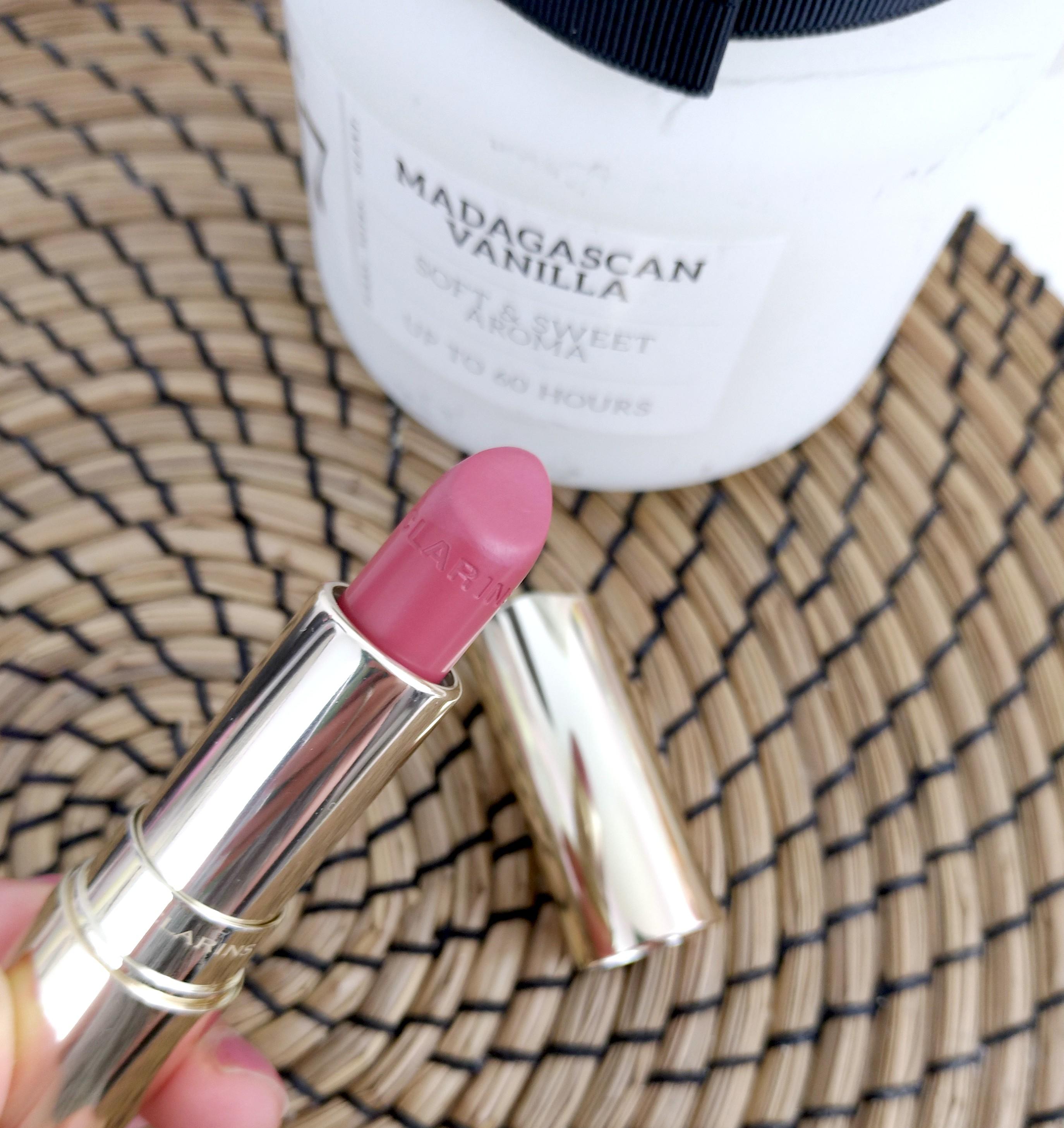 rouge à lèvres lichi clarins