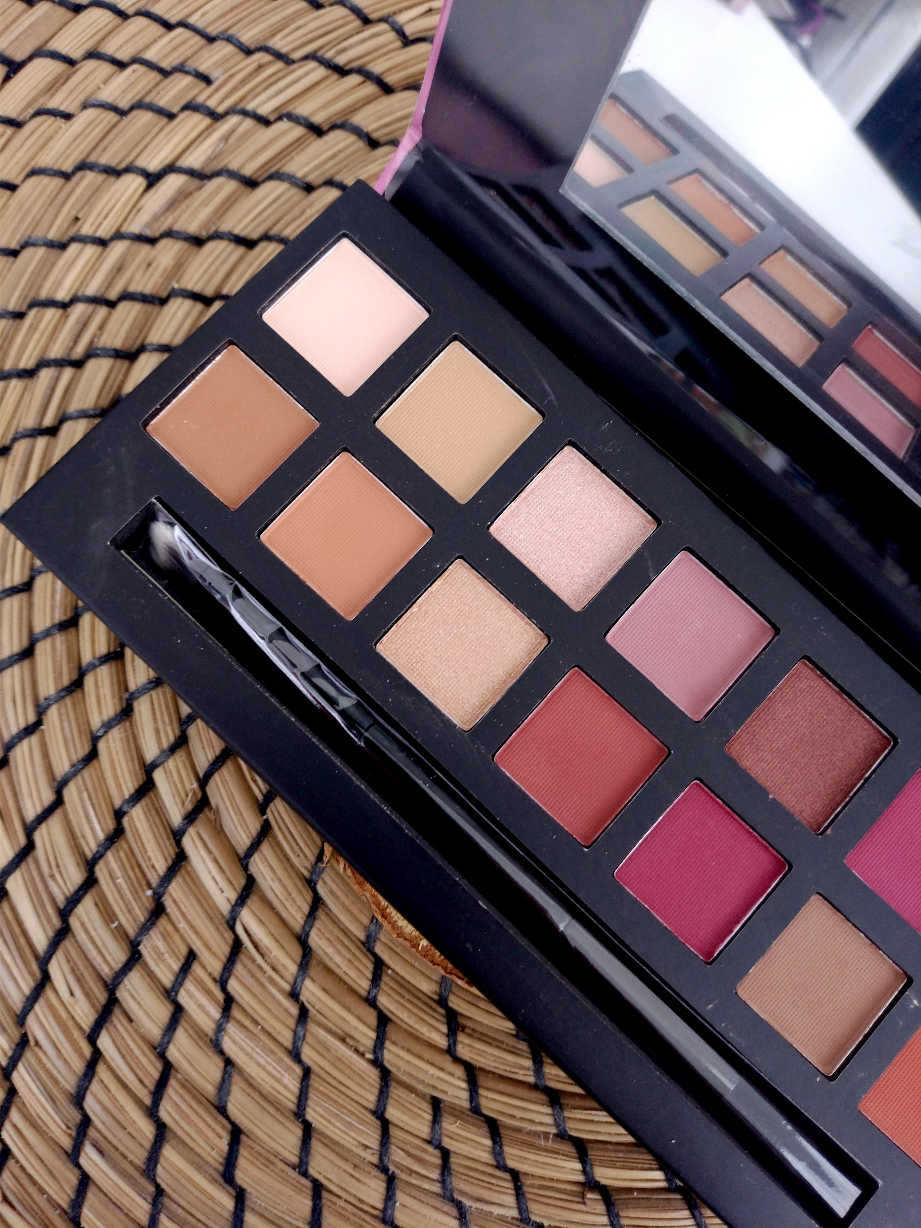W7 cosmetics délicious palette dupe moderne renaissance