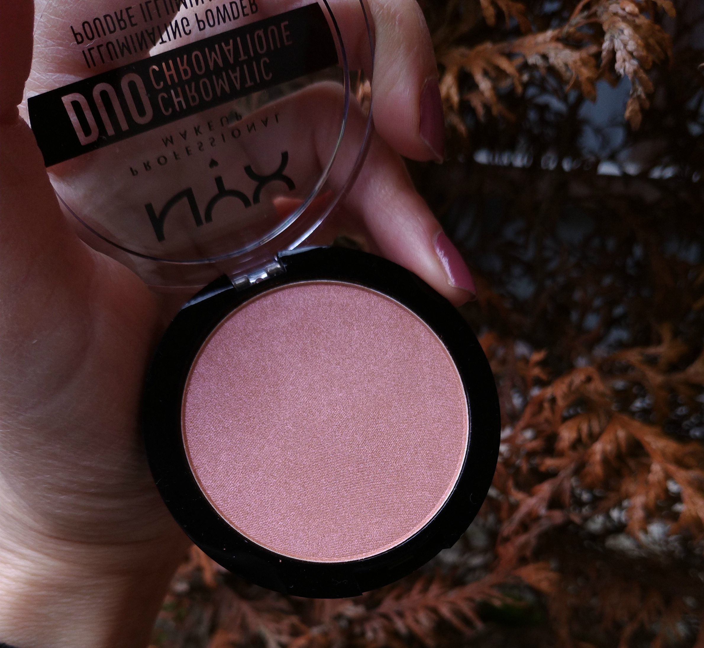 poudre illuminatrice duo chromatic nyx crushed bloom
