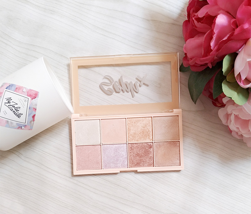 palette highlighters soph'x collection makeup revolution