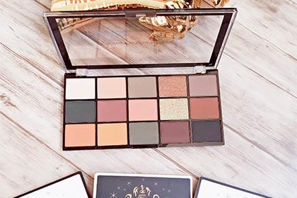 Les palettes reloaded de chez Makeup révolution