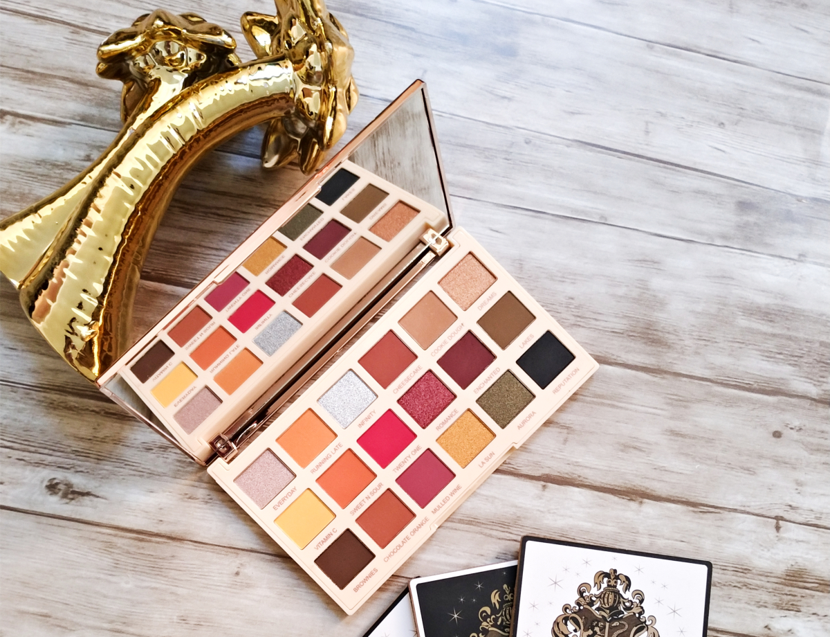 palette extra spice makeup revolution