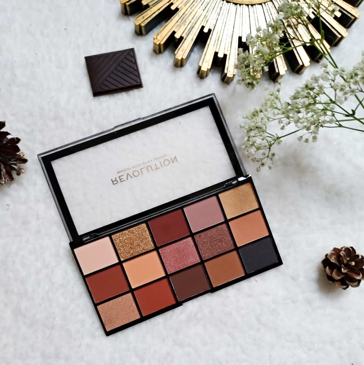 re-loaded palette makeup révolution
