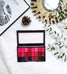 Lip palette makeup révolution