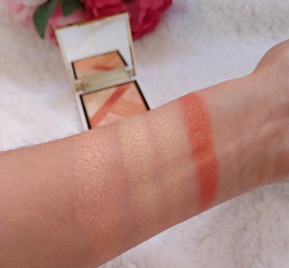 swatchs opulence palette makeup revolution