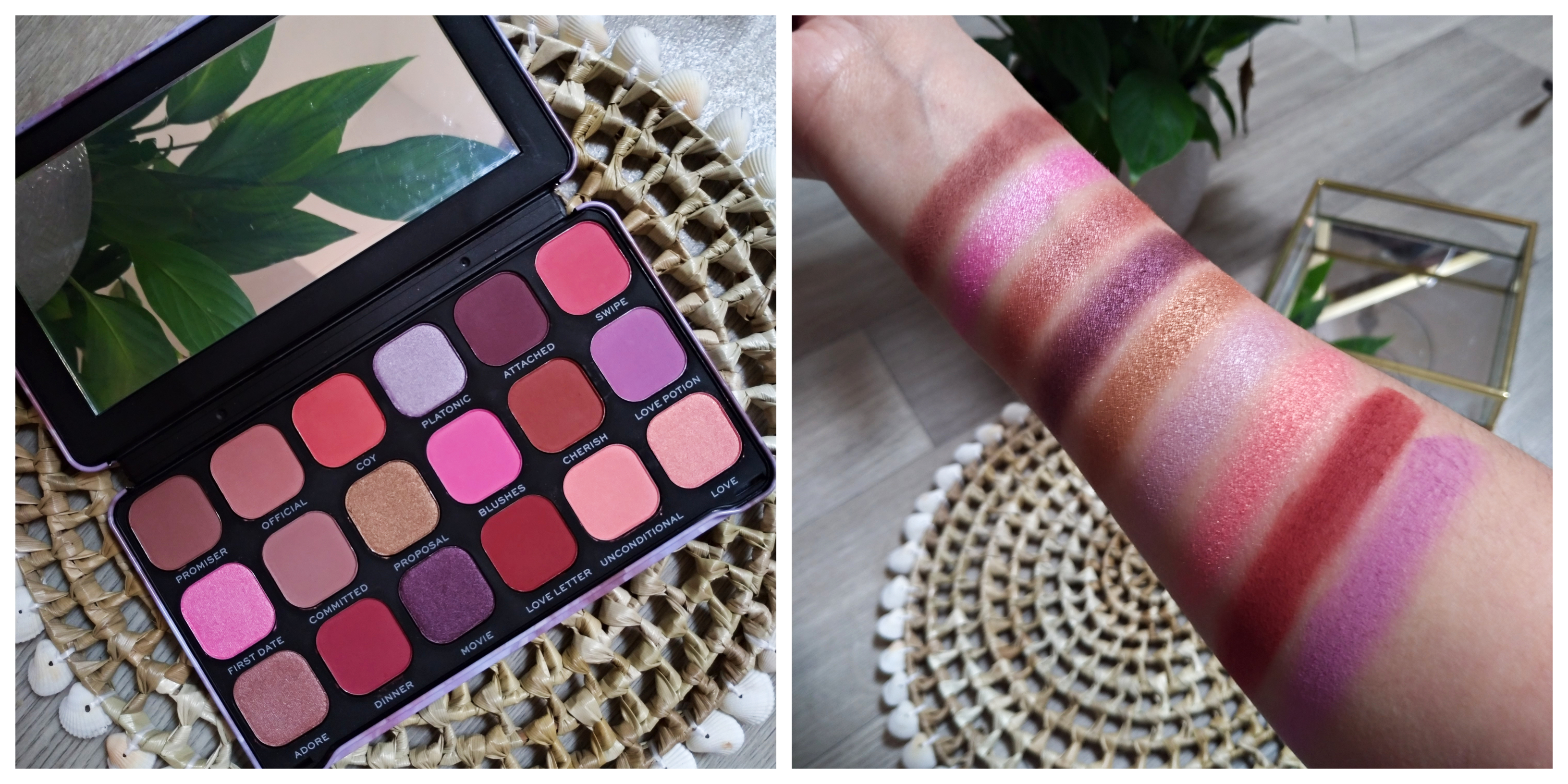 palette unconditionnal love makeup revolution