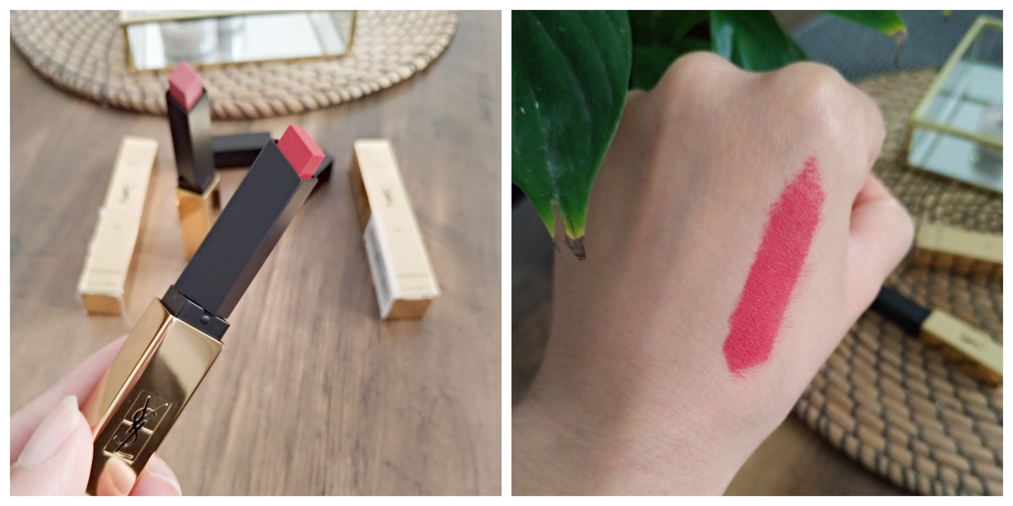 Swatch The Slim Yves saint laurent teinte 21 rouge paradoxe
