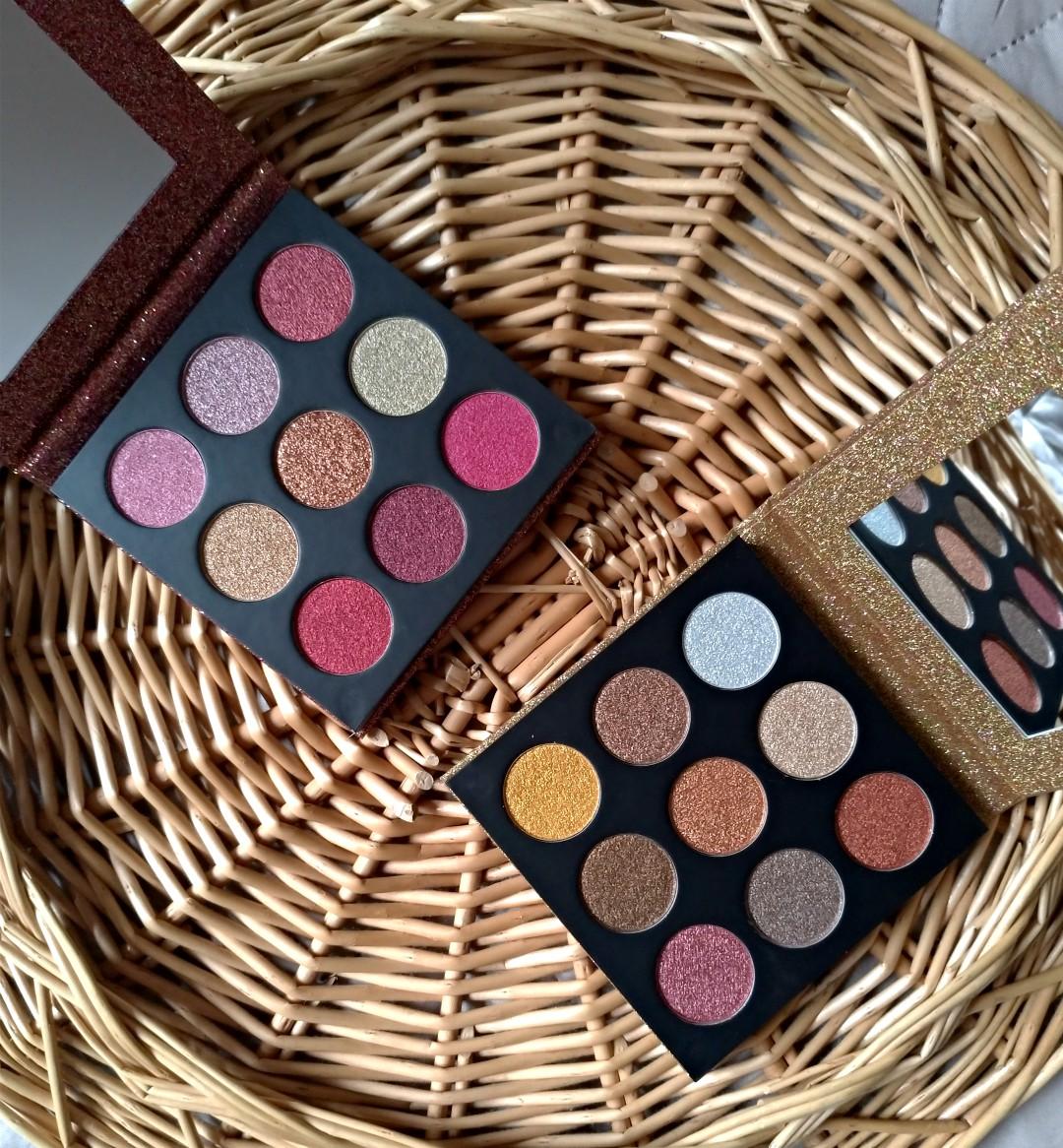 Euphoric foil palettes makeup revolution